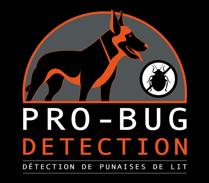 Pro bug detection canine
